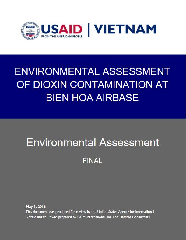 Environmental Assessment of Dioxin Contamination at Bien Hoa Airbase