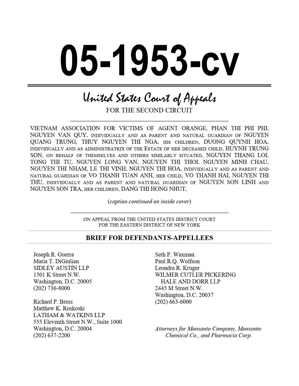 Brief for Defendants-Appellees